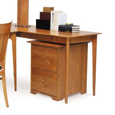 Copeland Furniture Sarah Computer Desk With Keyboard Tray Desk With Keyboard Tray Desk Copeland Furniture