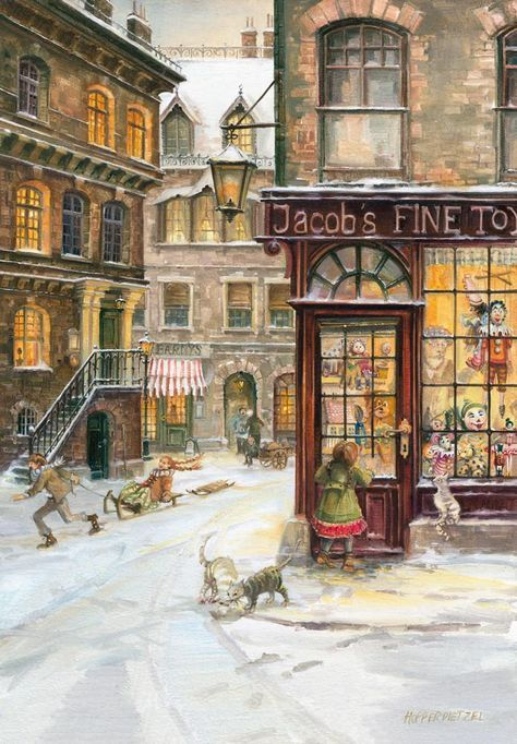 Christmas Dreams / Toy Shop Advent Calendar #victorian