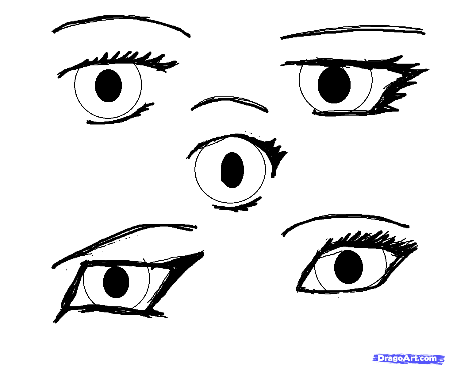 How To Draw Manga Eyes Step By Step Anime Eyes Anime Draw Japanese Anime Draw Manga Free Online Drawing Tutorial Added Manga Eyes Manga Drawing Drawings