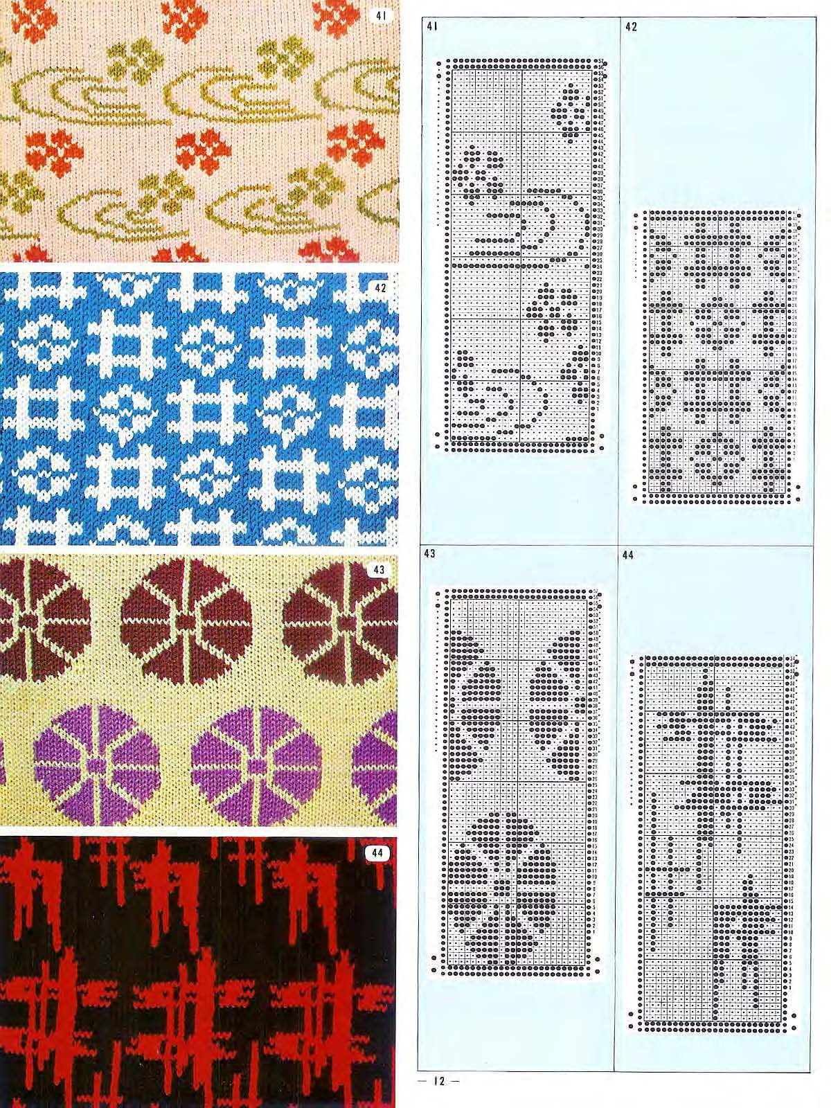 Pattern library for punch card knitter fairisle pattern library for punch card knitter fairisle bankloansurffo Images