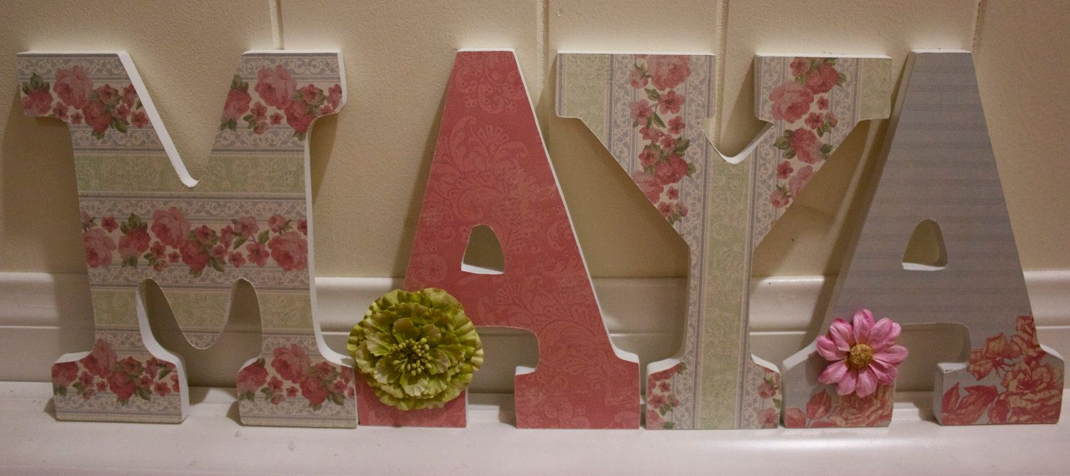 How to put scrapbook paper on wood - Shabby Chic Nursery Google Search Like Charlie S Room I Ll Put Here