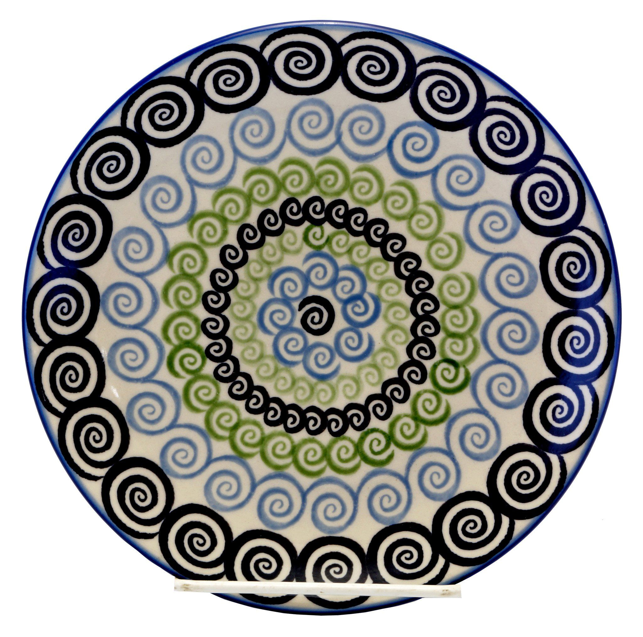 10  Dinner Plate (Hypnotic Whirlpool) from The Polish Pottery Outlet  sc 1 st  Pinterest & 10