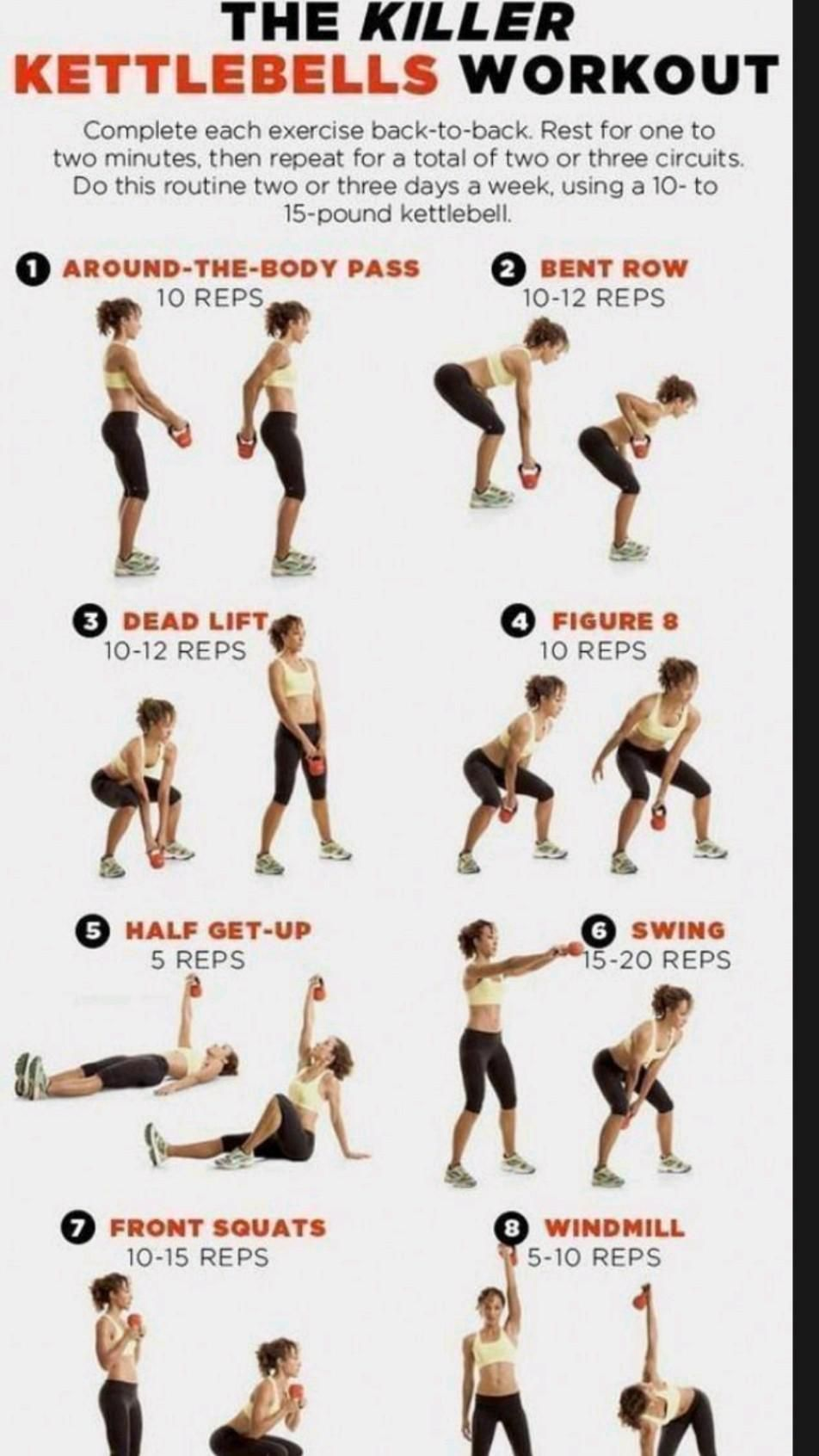 The Killer workouts