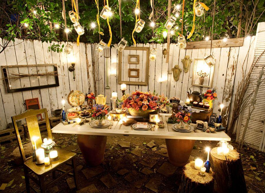Bridal Shower Vender Challenge Outdoor Dinner Parties Outdoor