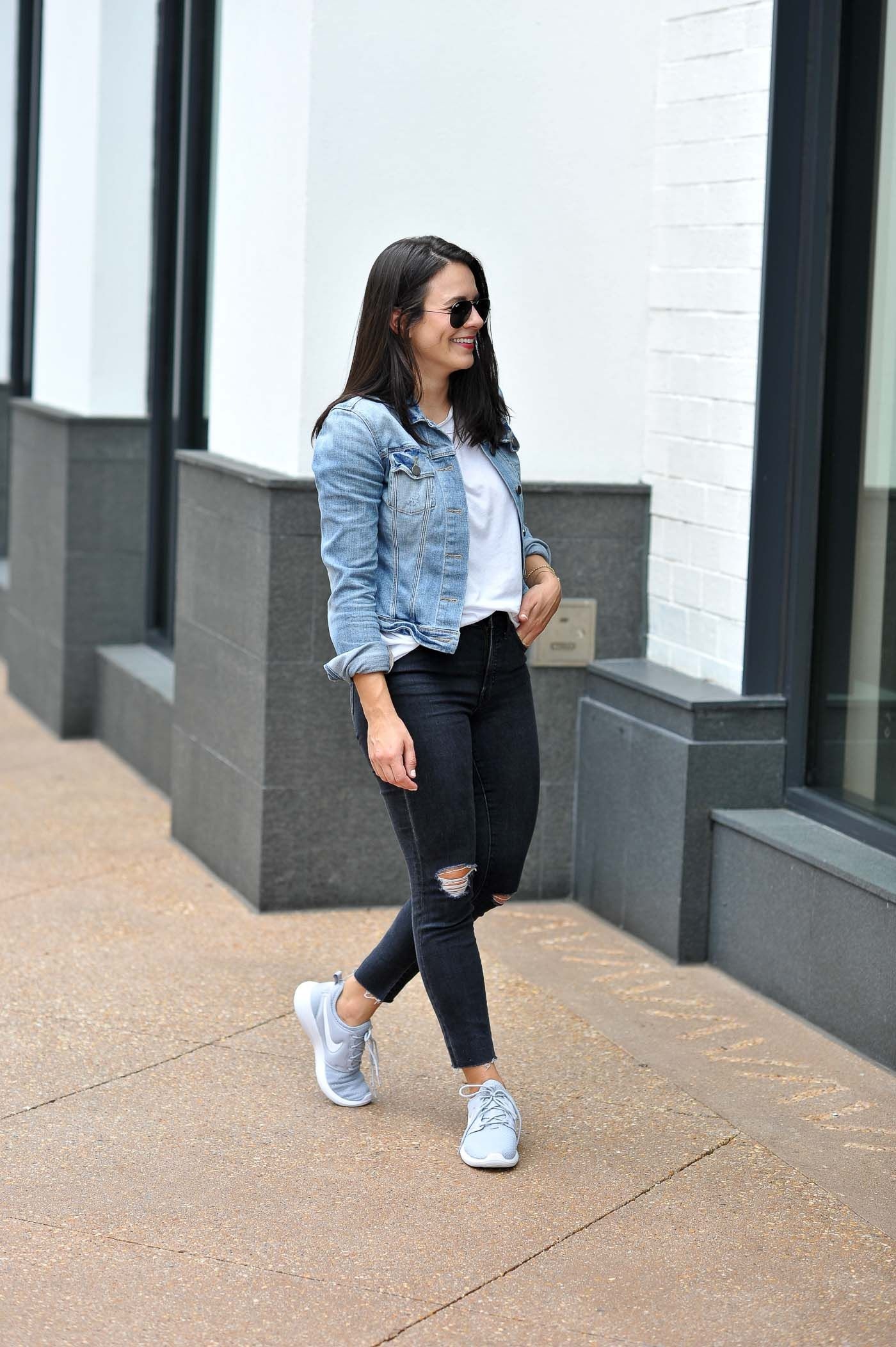 Styling Nike Roshe Two Sneakers For The Weekend Weekend Outfit