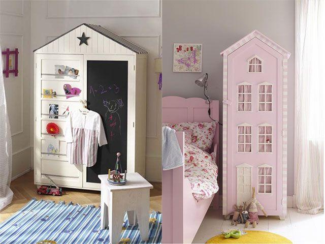 Mil ideas para organizar su ropita deco pinterest ideas para organizar armarios y organizar - Organizar habitacion ninos ...