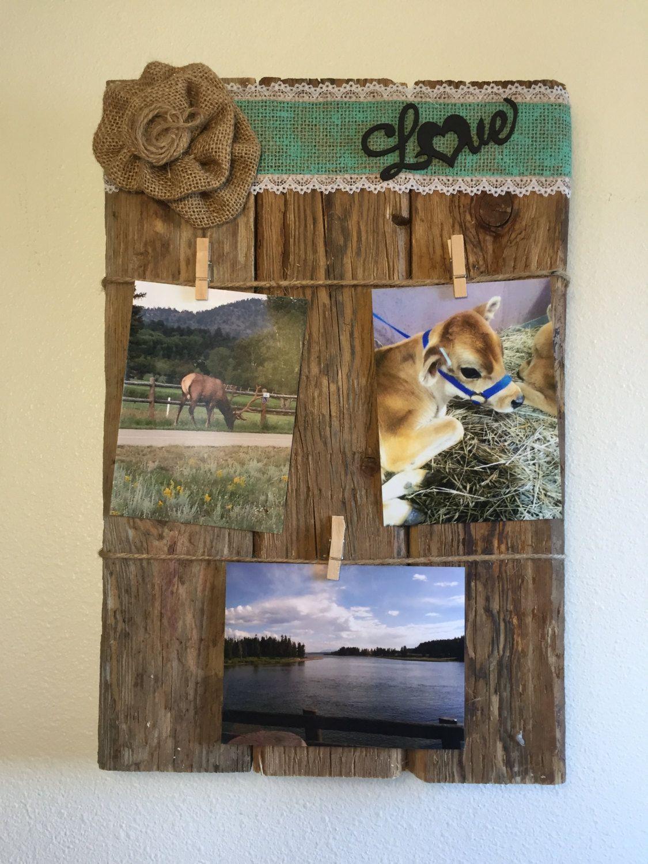 photo collage photo memory board picture memory board picture collage rustic picture