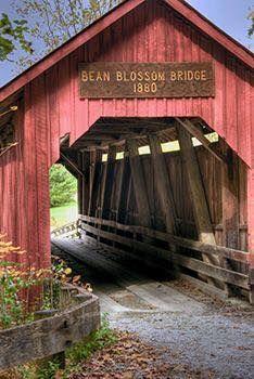 Indiana Covered Bridges Old Bridges Bridge