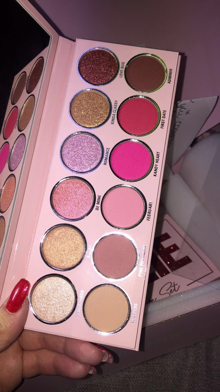 Journée de Kylie Valentine palette 2019 en 2020 in 2020