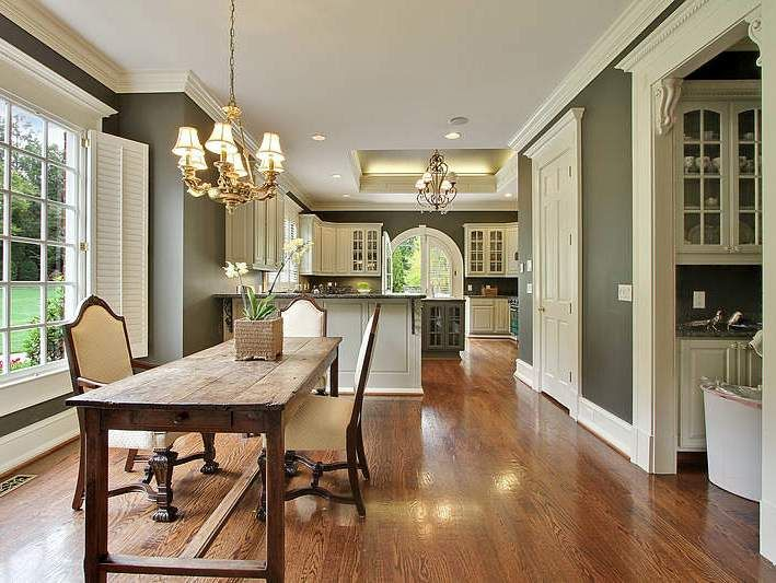 This Is The Perfect Hardwood Floor Color And I Love The White