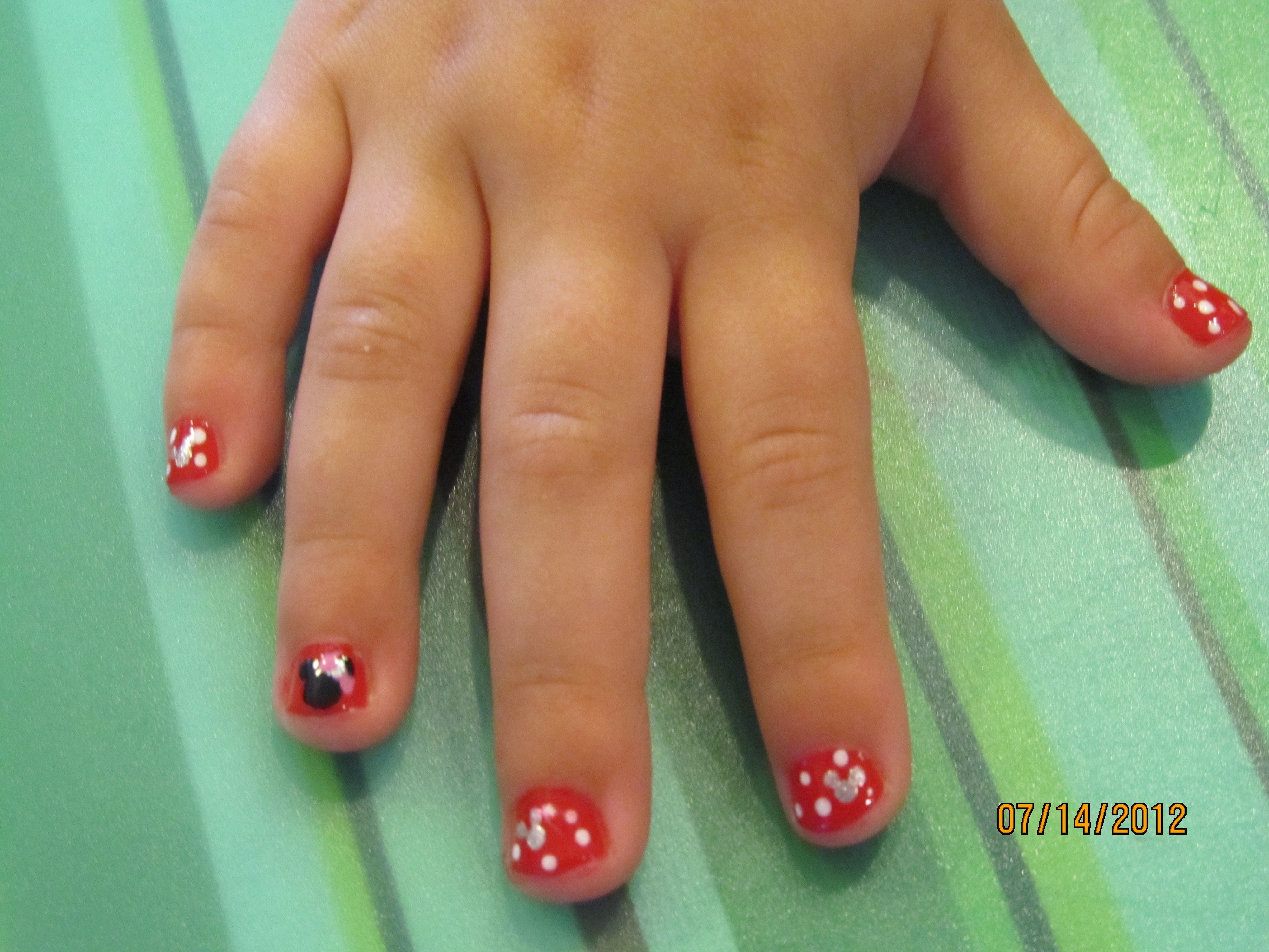 minnie mouse nail art | my things | Pinterest | Arte de uñas y Arte