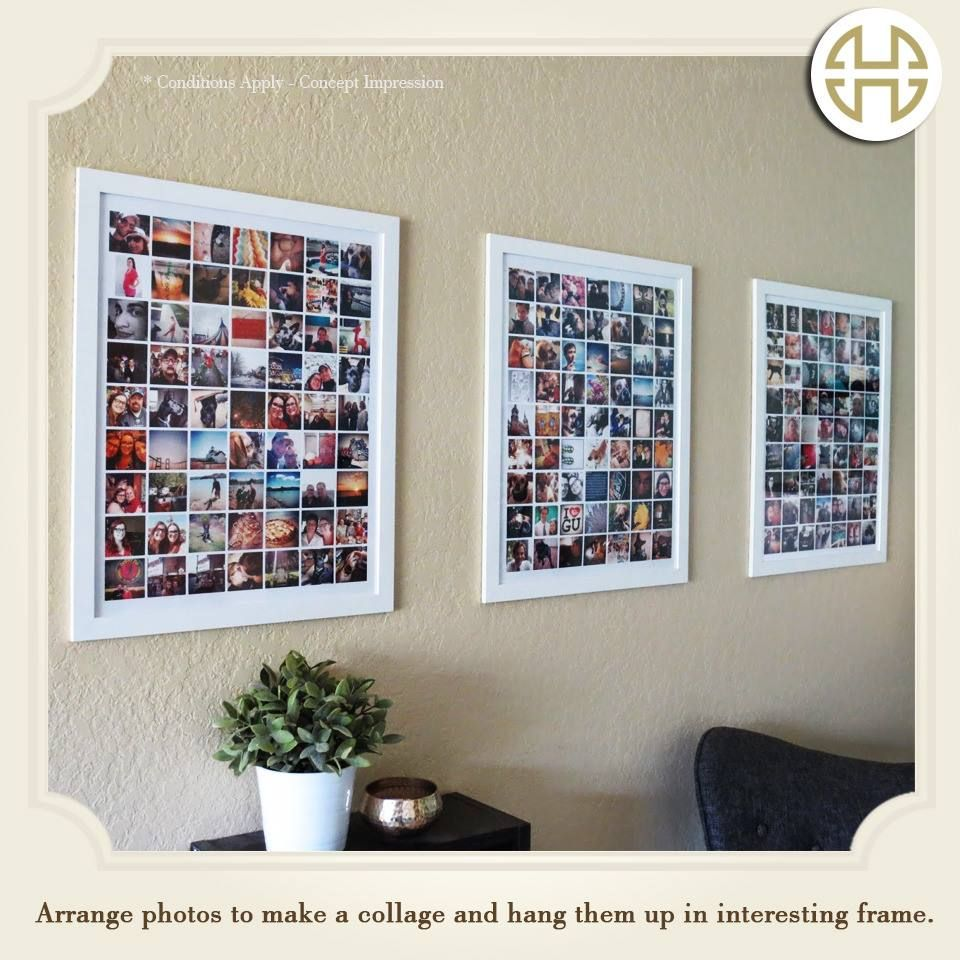 Now Frame All Your Memories On The Wall Without Running Out