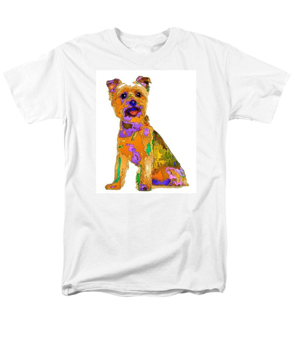 Men's T-Shirt (Regular Fit) - The Best Dog. Pet Series