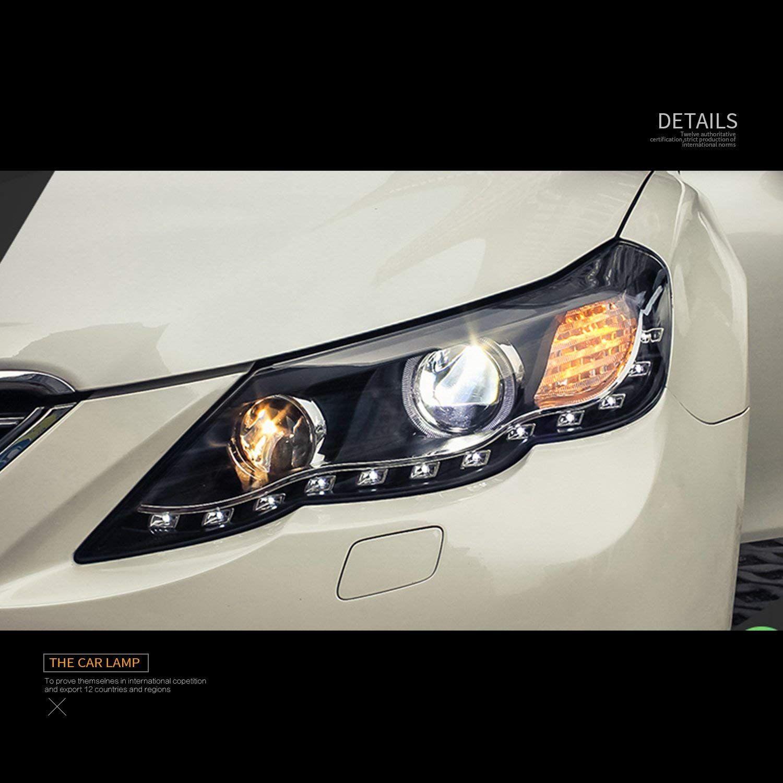 Useka トヨタ マークx 130 前期 用 改装 ヘッドライト ヘッドランプ 左右セット新品 2011 2012 Led For Toyota Reiz Led Head Lights Lamps Vland Carlamp Headlights Toyota R ヘッドランプ ヘッドライト 車 ライト