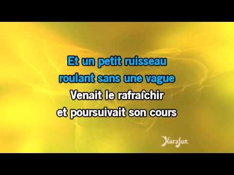 15) Karaoké Il y avait un jardin - Georges Moustaki * - YouTube ...
