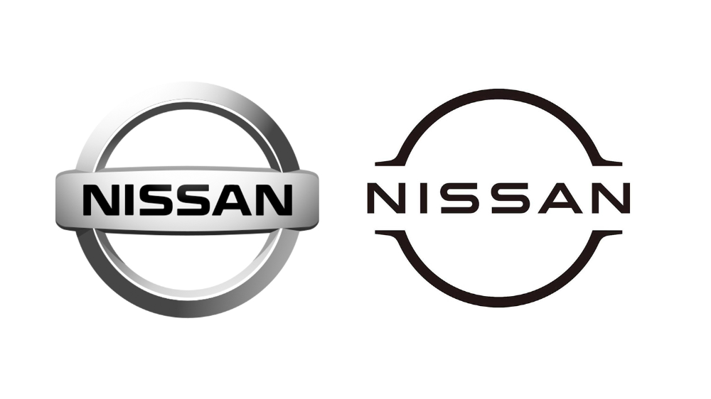 New Nissan logo joins the flat design party en 2020