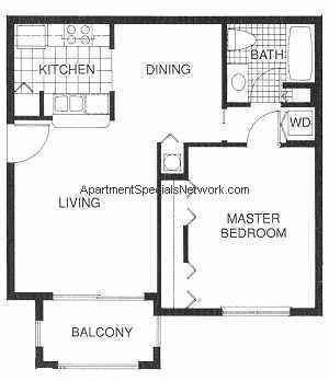Margate Apartment Rental Mg106 1 Bedroom Floor Plans Floor Plans Bedroom Floor Plans Barndominium Floor Plans