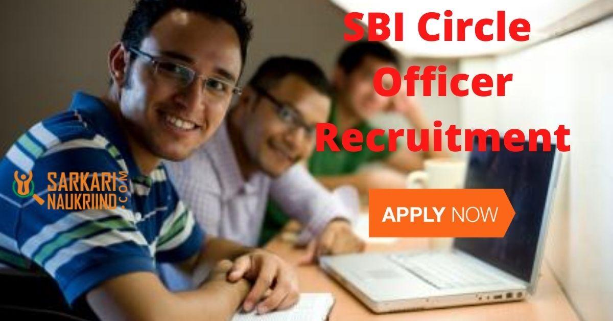 SBI Circle Based Officer Recruitment 2020 Application