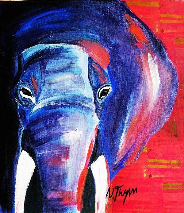 Elefant malen Anleitung: ArtNight Motiv
