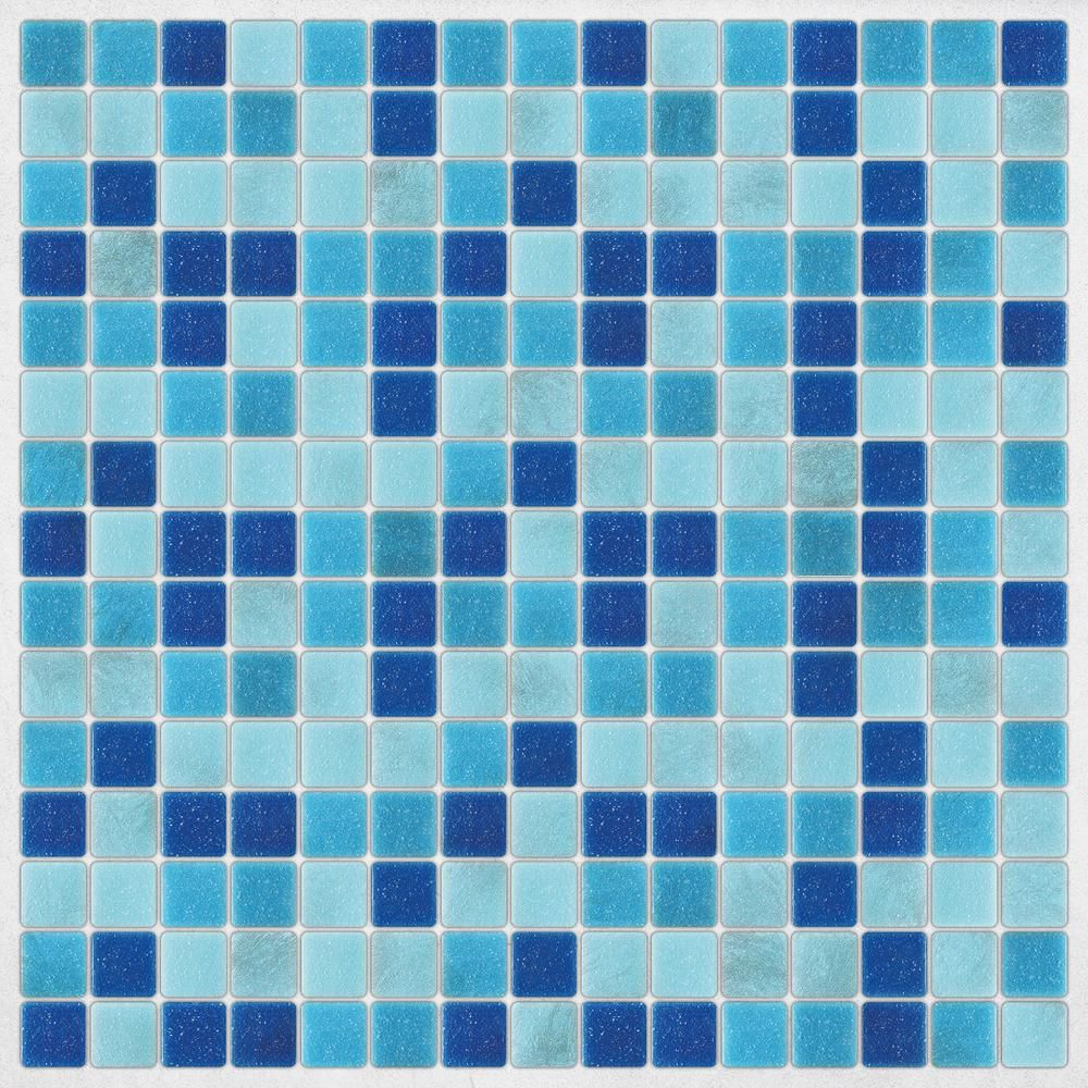 Home Decor Line Light Blue Peel And Stick Decal Tiles Cr 31314 Stick On Tiles Mosaic Tiles Peel And Stick Tile