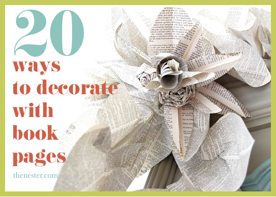 pottery barn-inspired book bundles | vintage books, books and barn