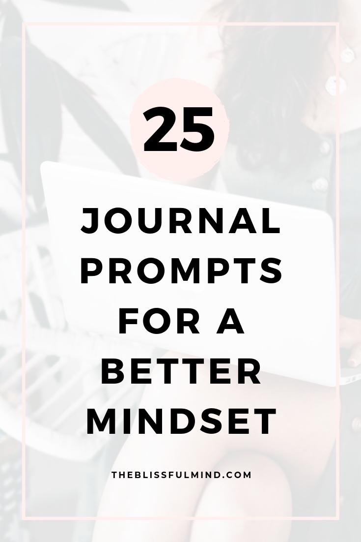 Free Mindset Journal Prompts