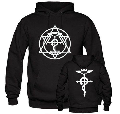 Flame Alchemist Roy Fullmetal Alchemist Brotherhood Anime Manga Men//Women Unisex Hoodie