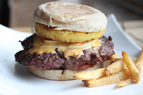 Spam Burger Recipe