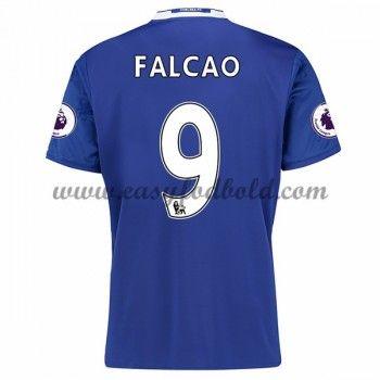 Fodboldtrøjer Premier League Chelsea 2016-17 Falcao 9 Hjemmetrøje