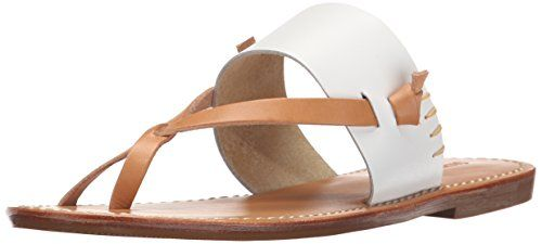 c10196be65ed Soludos Women s Slotted Thong Sandal Flat