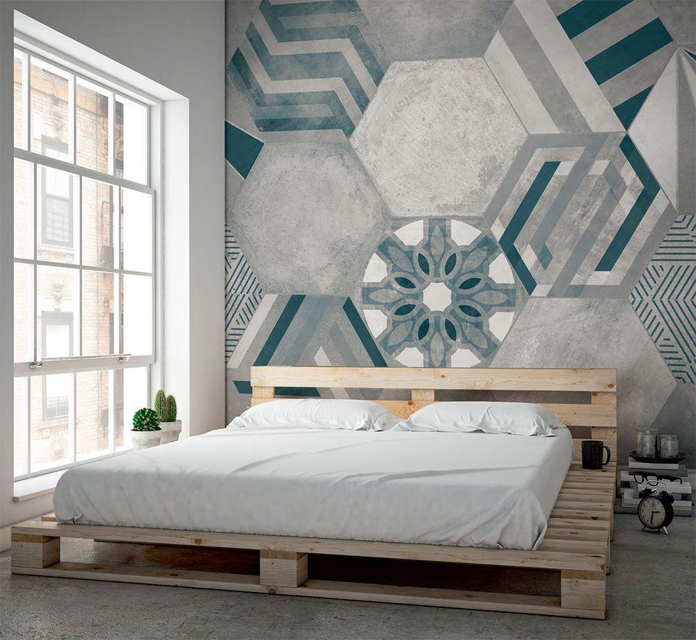 Serie hexa carta da parati armonie by arte casa wall for Carta da parati tonin casa