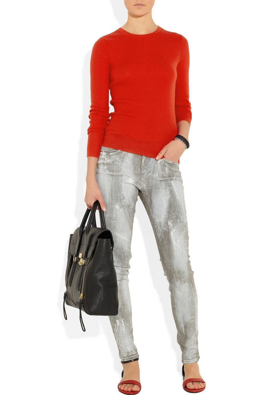 Michael Kors|Ribbed cashmere sweater|NET-A-PORTER.COM