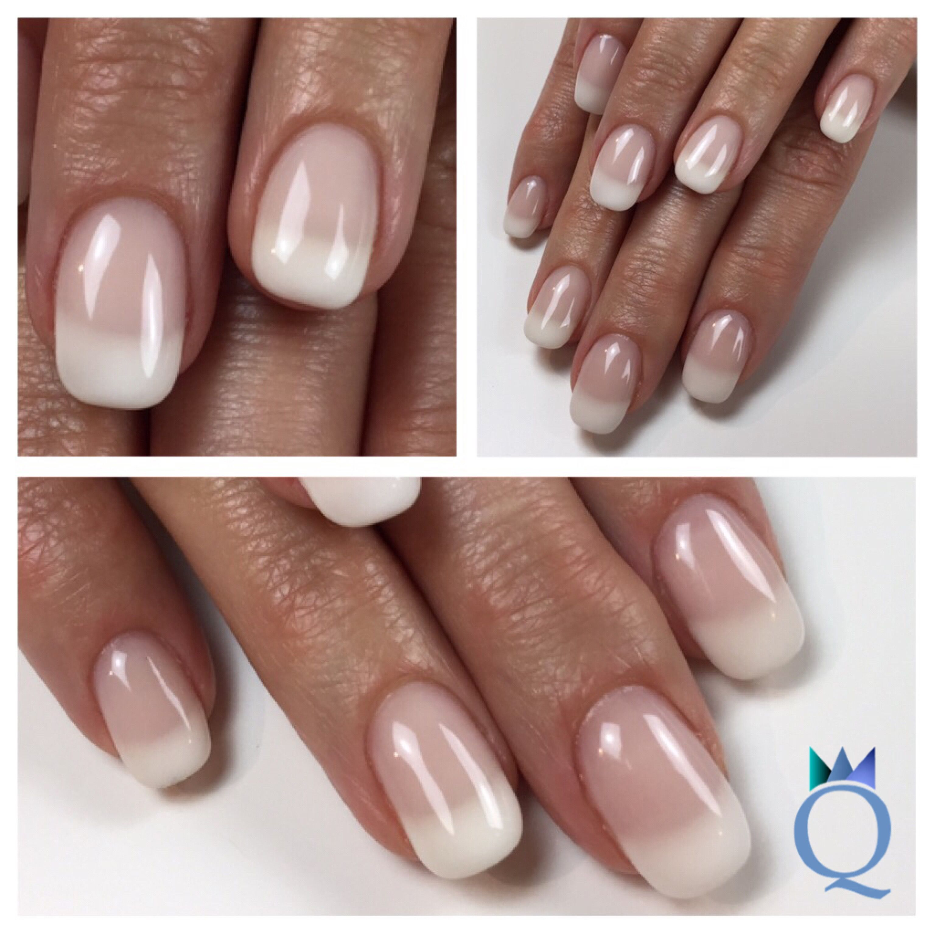 shortnails #gelnails #nails #frenchnails #kurzenägel #gelnägel ...