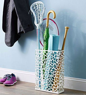 umbrella stand for sports equipment