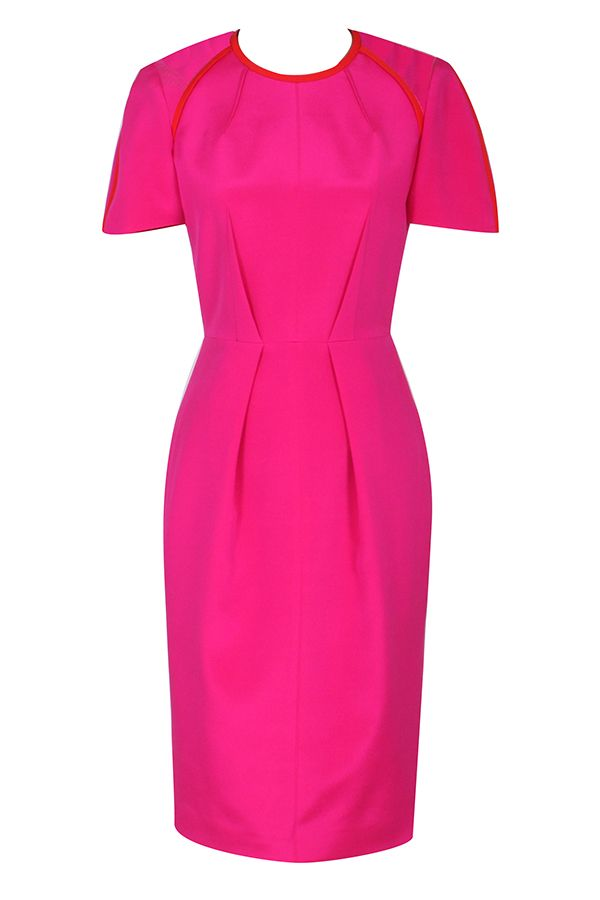 7ebf6ee65ae W14514 - Wishbone Dress with Sleeve