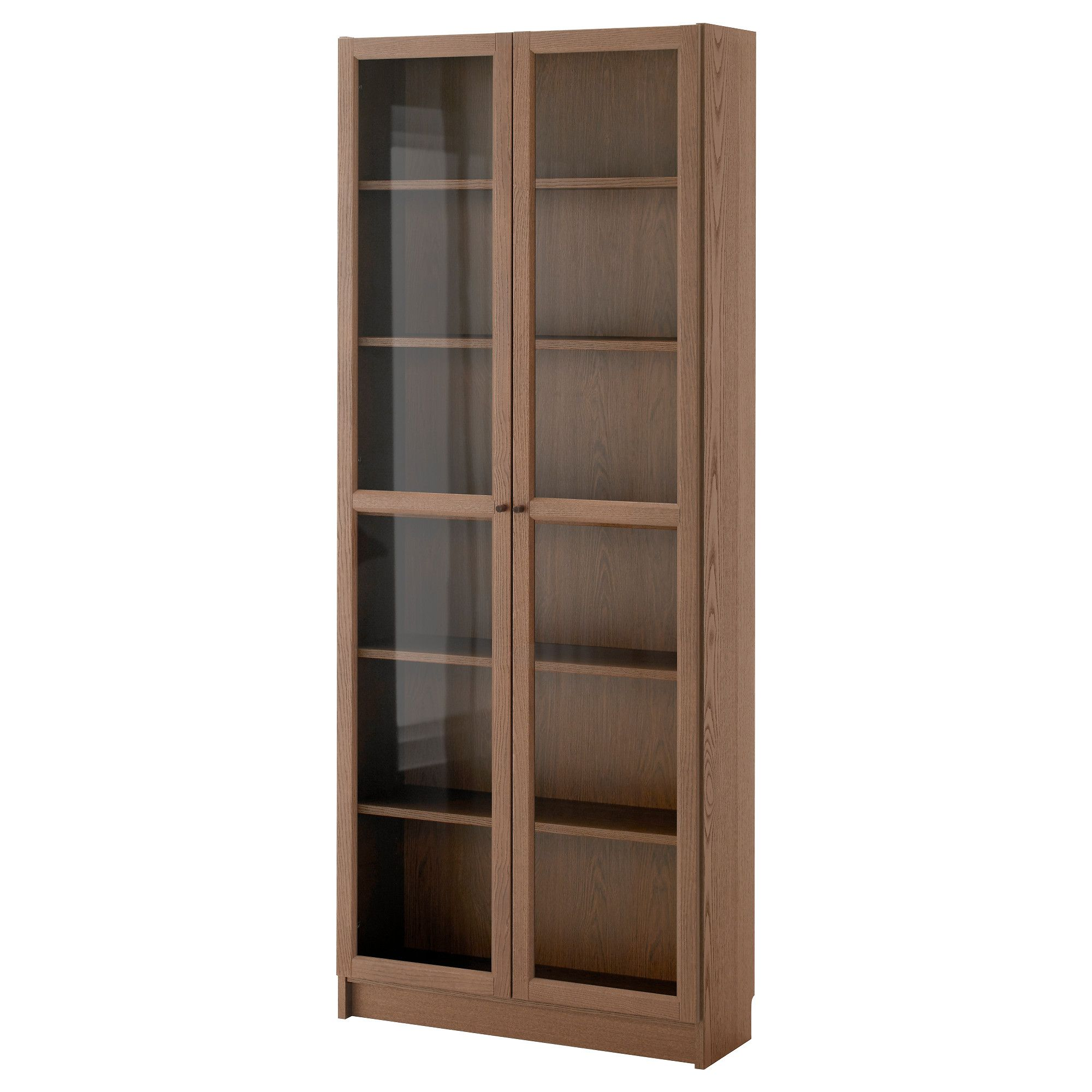 Us Furniture And Home Furnishings With Images Ikea Bookcase Bookcase With Glass Doors Bookcase