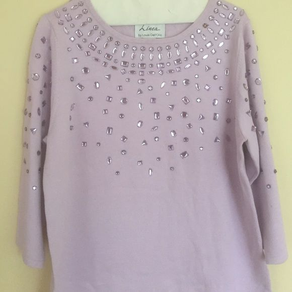 Lavender bedazzled holiday sweater | Lavender, Purple and Holidays