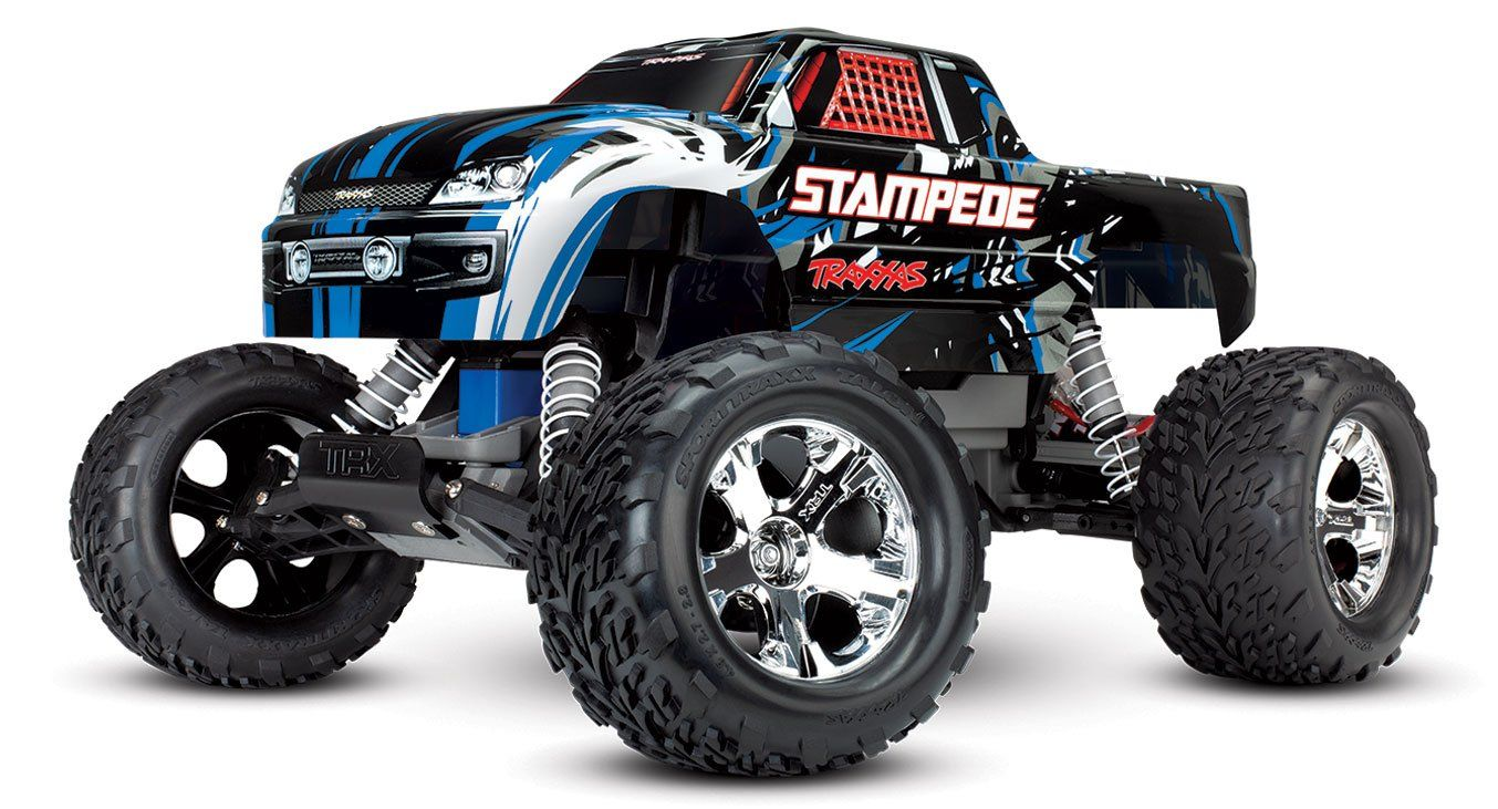 Stampede 1/10 Scale Monster Truck Xl5 Blue No Battery