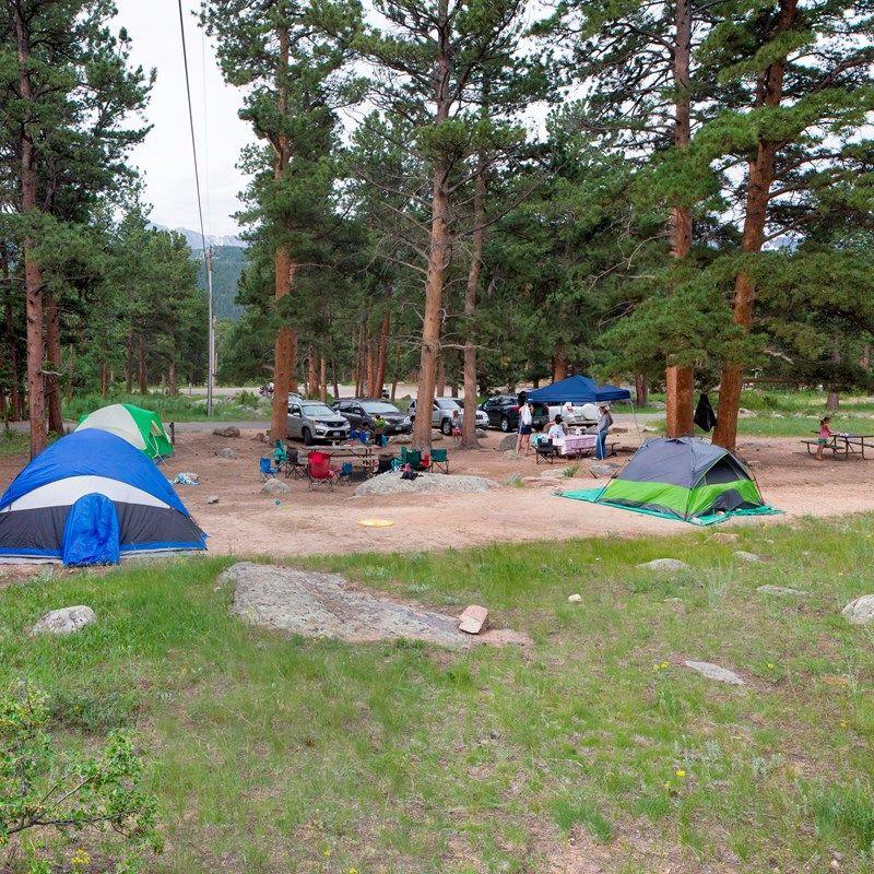 Moraine Park Campground Rocky Mountain National Park U S National Park Service Rocky Mountain National Park Moraine Park Park Service