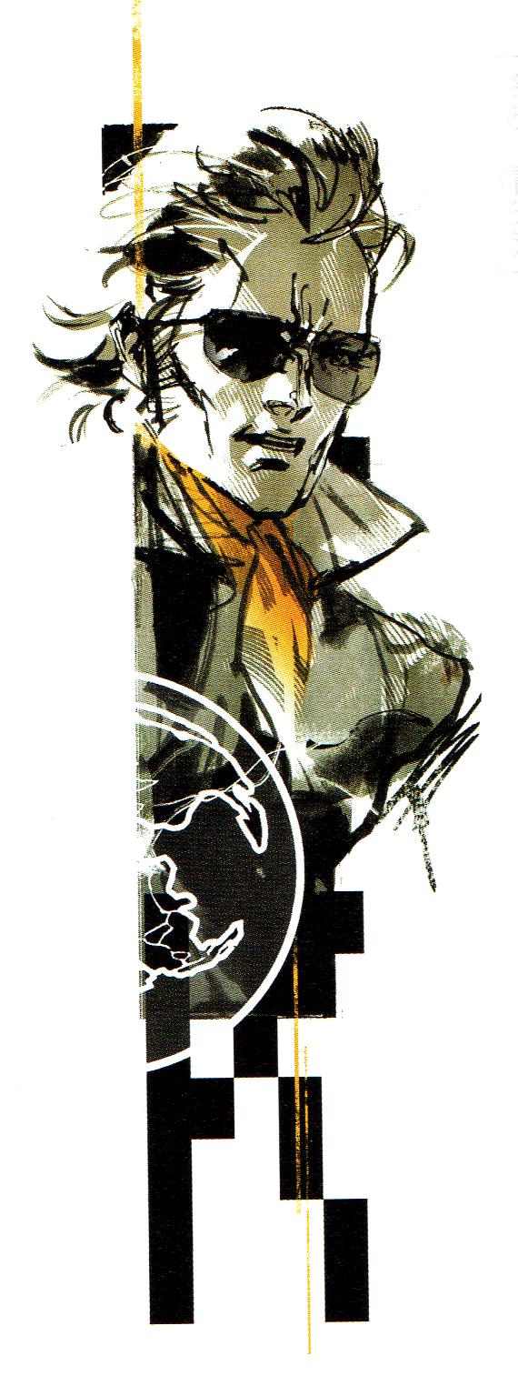 Art Of Metal Gear Solid By Yoji Shinkawa Post Metal Gear Snake Metal Gear Metal Gear Rising