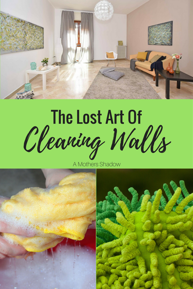 Tutorial On How To Clean Walls Wash Easily Using A Sweeper Or Swiffer And Cloth Attached Few Simple Ings Water For Easy