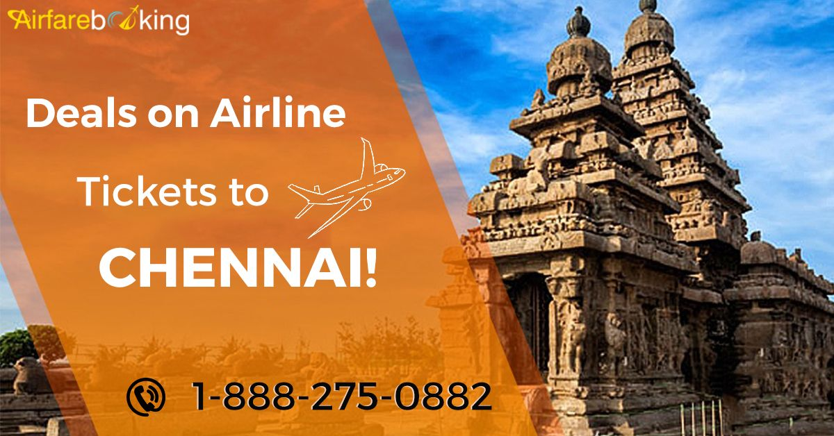 Book flights from the USA to Chennai at lowest airfare on Airfarebooking. Get amazing deals on airline tickets to Chennai. Book Now!  For more information call us at- 1-888-275-0882 (Toll-Free)  #USAtoChennai #bookchennaiflights #flightstochennai #Travel #discover #explore #Journey #traveler #destinations #flightfares #ticketstoindia #incredibleindia #travelgram #Tour #Tourism #TOURIST #holidays #OnineFlightbooking #bestdealsonflights #cheapflightbooking