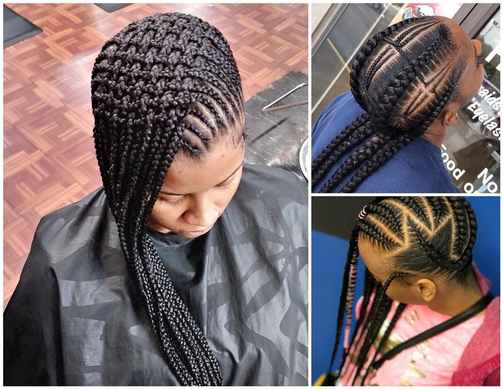 Hairstyles Braids: Stylish Braids Hairstyles : 2018 Trendy Chic Styles