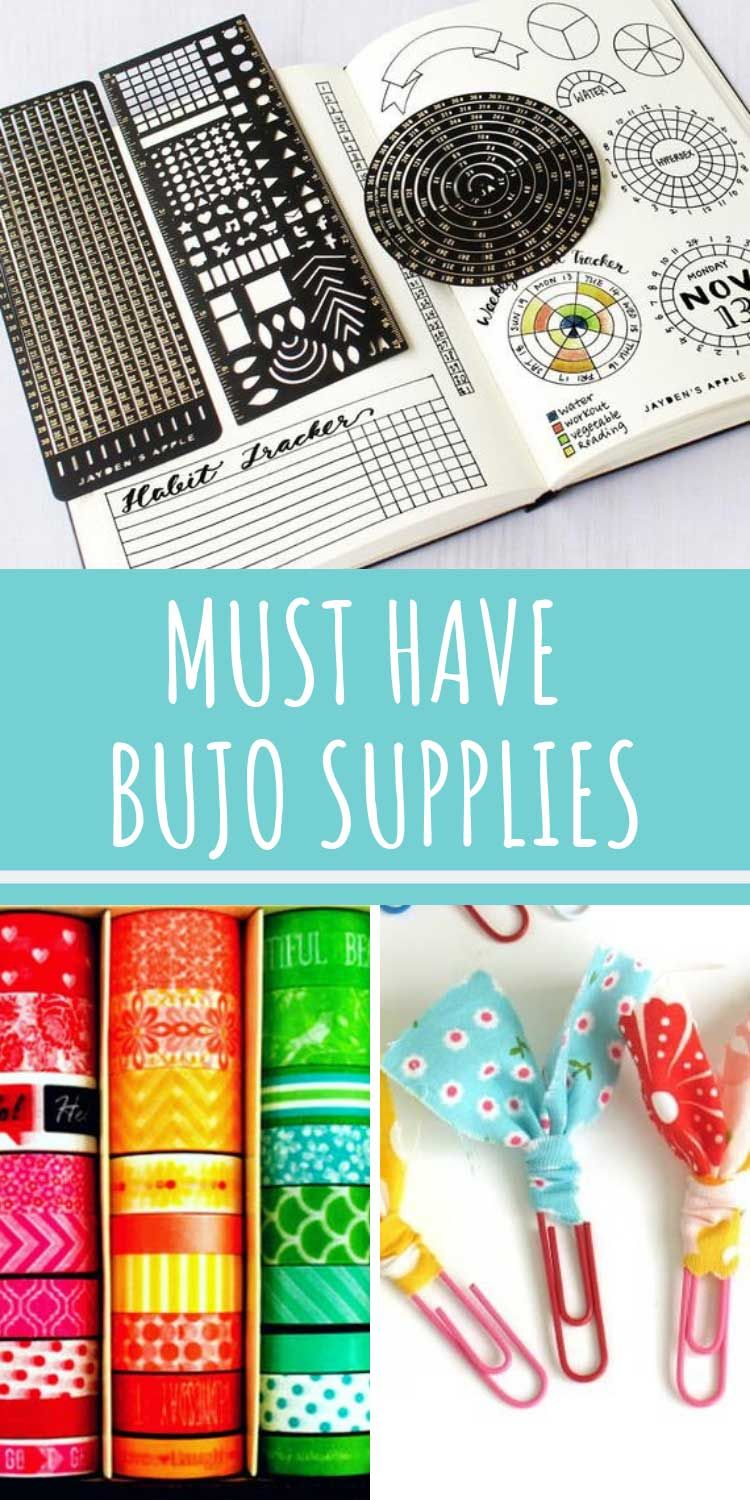 Bullet Journal Supplies Must have items that make great gift ideas! is part of Organization Printables Bullet Journal - Whether you're just getting started or looking for a thoughtful Christmas gift this list of Bullet Journal supplies is sure to help!