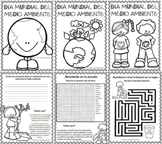 Les Compartimos Este Excelente Material Que La Maestra Ms Loy Creations And More P Medio Ambiente Dibujo Dia Mundial Del Medio Ambiente Dia Del Medio Ambiente