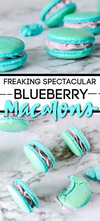 Blueberry Macarons Blueberry Macarons are So Freaking Spectacular, I'm Marrying Them. They're without equal. And I need more. Immediately.