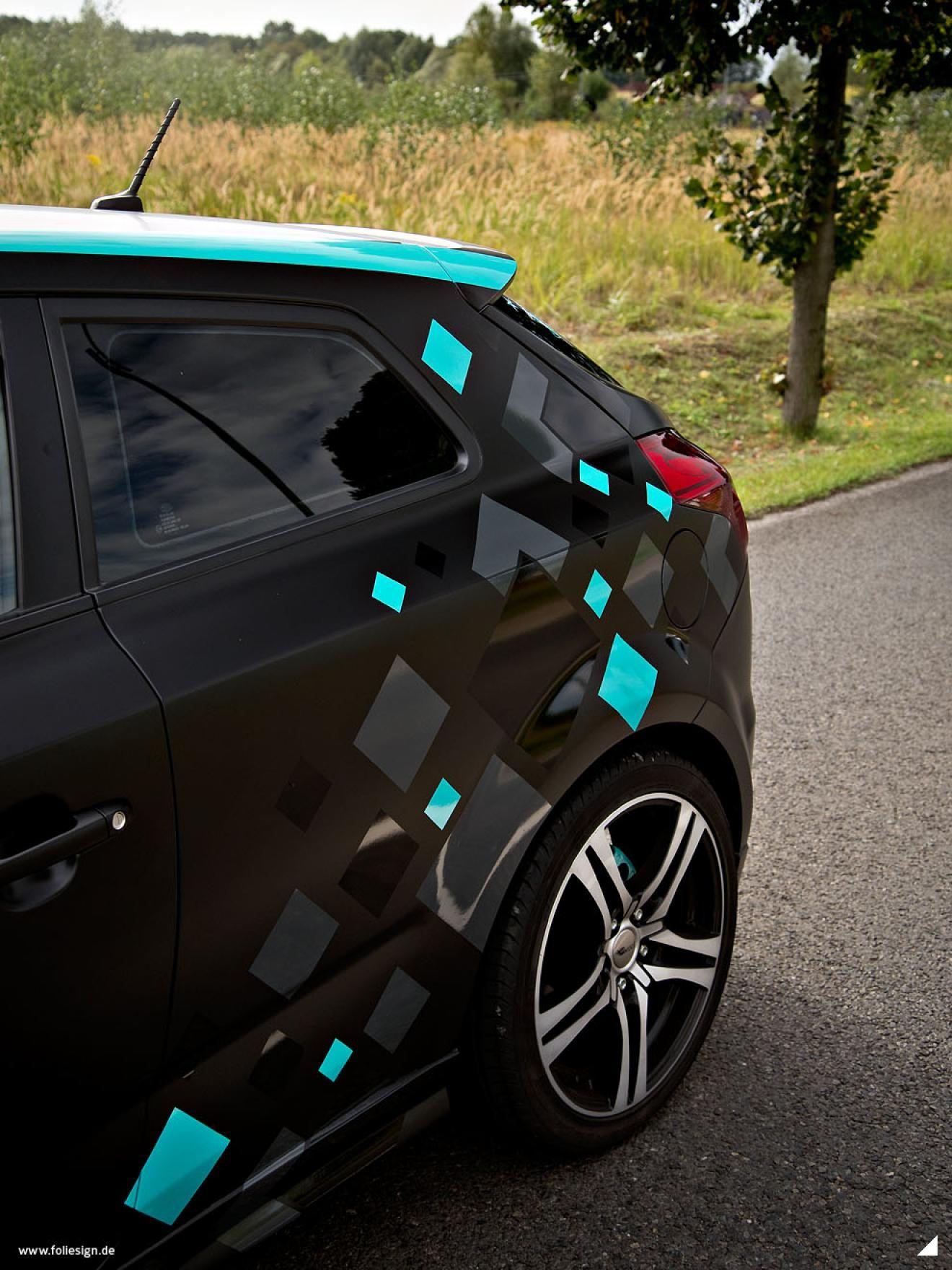 KIA ceed Fahrzeugstyling Design Folierung FOLIESIGN