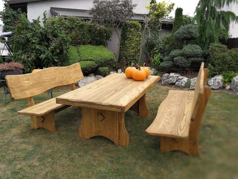 Www Handholzwelt At Gartengarnitur Holz Rustikal Eiche Holz