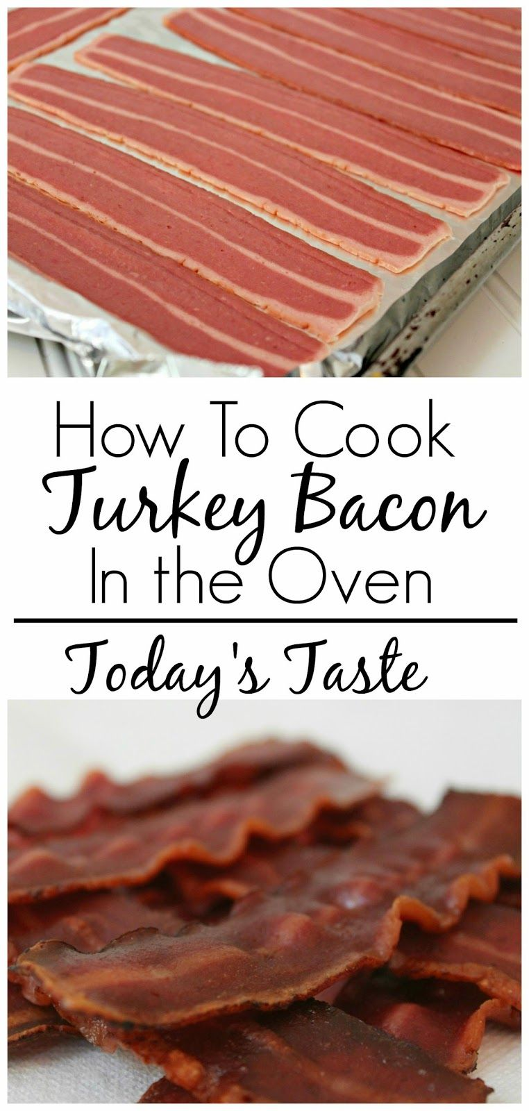 How To Cook Turkey Bacon In The Oven From Todaystaste
