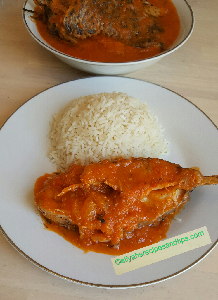 Nigerian Fish Stew Imoyo Stew Aliyah S Recipes And Tips Recipe Fish Stew Recipes Nigerian Recipes